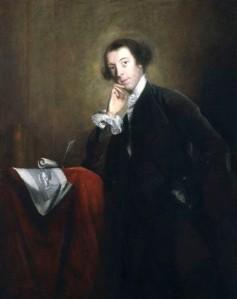 Retrato de Horace Walpole, por Joshua Reynolds, ca. 1756. Fotografía de Wikimedia Commons.